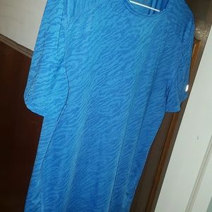 Russell athletic blue tshirt size small